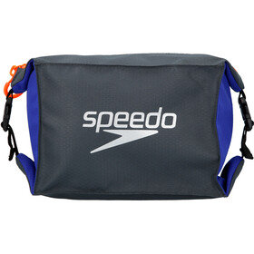speedo Pool Side Borsa Set, L, oxid grey/ultramarine